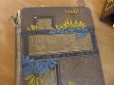 Uncle Tom's Cabin A Picture of Slave life in America-H.Beecher STowe illus 1900