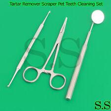 Dog Ear Hair Puller Forceps Tartar Remover Scraper Pet Teeth Cleaning