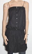 QUICKSILVER Surf Brand Black Silver Thread Sabie Dress Size M BNWT #sG31