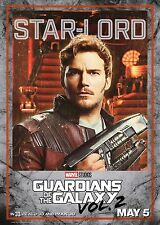 Guardians of the Galaxy Vol 2 Movie Poster (24x36) - Chris Pratt, Star Lord v5