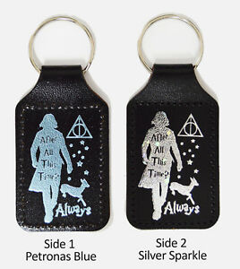 Severus Snape After All this Time? Always - Themed Keyring