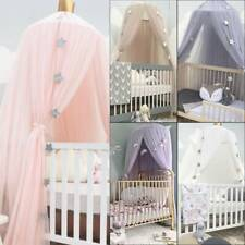 Bedding Dome Tent Cotton Kids Bed Canopy Bedcover Mosquito Net Curtain Decor