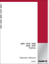 CASE IH JX60 JX70 JX80 JX90 JX95 MANUALE Operatori Trattore (B408)