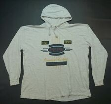 Rare VTG PEPE Service Premiere Products Spell Out Thin Hoodie T Shirt 90s OSFA