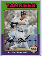 Hideki Matsui 2019 Topps Archives 5x7 Gold #145 /10 Yankees