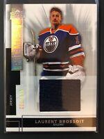 2014-15 UD Premier Silver Spectrum Rookie Jersey Laurent Brossoit Oilers  /125