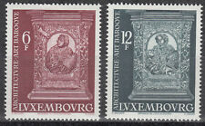 Luxembourg / Luxemburg 952-953** Architektur - Barock