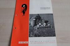 144116) Rabewerk Spatenkrümler Spatenrollegge Prospekt 08/1963