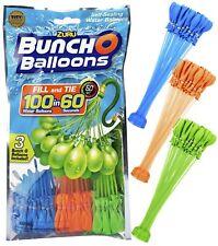 ORIGINAL 105 Stück Bunch O Balloons von ZURU selbstschließende Wasserbomben Grün