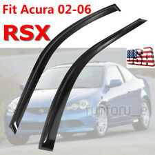 For 2002-2006 Acura RSX Integra Smoke Window Visor Vent Rain/Sun/Wind/Snow Guard