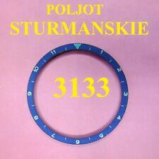 Poljot Shturmanskie Cal 3133 Chronograph Vintage USSR Russian Bezel Ring