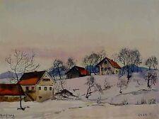 Verzeichn. Maler Herbert Borchard *1911 Berlin Moderne Bild Zlebict xx 61-280 xx