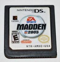 MADDEN NFL 2005 NINTENDO DS GAME 3DS 2DS LITE DSI XL