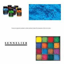 Sennelier Artist Dry Pigmen 180g Jar Cerulean Blue Hue