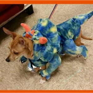 Dinosaur Dog Halloween Costume Size Medium Top Paw (Used with Tags) Worn once