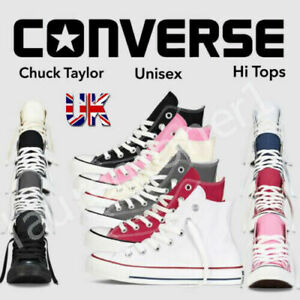 All Star Converse High Top Trainers Unisex Mens Womens Chuck Taylor Canvas Shoes