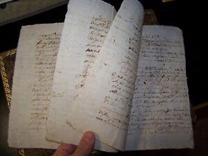 1591 - Antico fascicolo manoscritto notarile di area lombarda