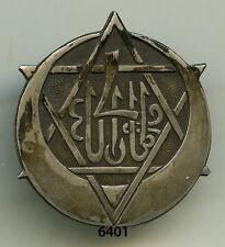 Insigne tirailleurs tunisie ns , 4  RTT.  , (  1 er. type  , tout métal )