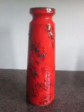 Ruscha Keramik-West German Jarrón De Cerámica-Lava/848