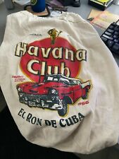 Drawstring Cotton Havana Club El Ron De Cuba Cotton Bag