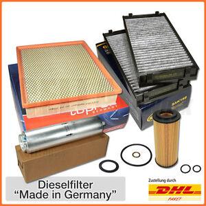BMW X5 X6 E70 E71 3.0sd xDrive 35d 286 PS Inspektionspaket Filterset Filtersatz