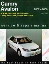 Toyota Camry & Avalon 2002 - 2006 Gregorys Owners Service Repair Workshop Manual