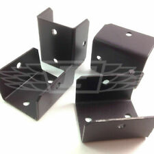More details for 10 x fence panel fixing clips 48mm 1.8