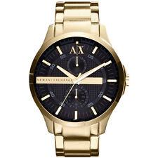 NEW ARMANI EXCHANGE MENS GOLD PVD CHRONO SPORTS WATCH - AX2122 - RRP £185