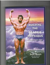 BUILDING THE CLASSIC PHYSIQUE bodybuilding muscle book by STEVE REEVES
