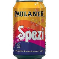 24 Dosen a 0,33L Paulaner Spezi Cola Orange Mix Orginal inc. 6,00 € Pfand