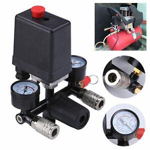 DE Druckschalter Druckregler Regelventil für Druckluft Kompressoren mit Bracket