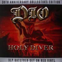 DIO - HOLY DIVER 3 VINYL LP NEU