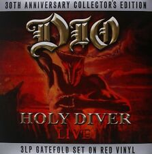 DIO - HOLY DIVER 3 VINYL LP NEW!