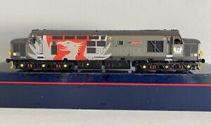 Bachmann OO Gauge Class 37 37611 Pegasus Europheonix Livery *requires TLC*