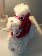 Vintage Plush Poodle Dog Stuffed Animal - Carnival Prize COLUMBIA TOY PRODUCTS