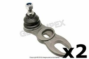Porsche 928 '86-'95 FRONT L and R LOWER Ball Joint for Control Arm Set of 2 MOOG