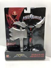 Sabans Power Rangers Ninja Steel Training Gear Double Blade & Battle Axe Toy