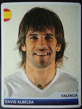 Panini 30 David Albelda FC Valencia UEFA CL 2006/07
