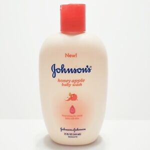 Johnson's Honey Apple Baby Wash Original Formula 15 fl oz