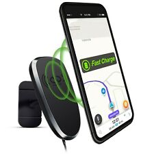 Naztech MagBuddy Bluetooth Wireless Charge Anywhere+ Mount - Black
