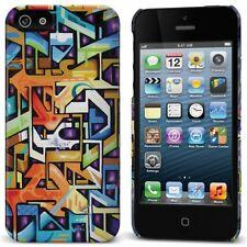 "Cygnett Tats Cru ""The Bronx"" Graffiti Art iPhone 5/5S/SE Case Screen Protector"
