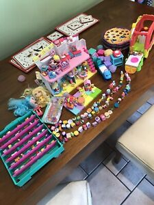 Massive Shopkins Bundle Figures House Smoothie Truck And Accessories
