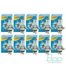 10 x H4 Halogen Autolampen Set 55W 12V P43T Glühbirnen Lampen Birnen Satz