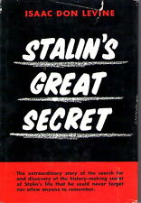 Stalin's Great Secret by Isaac Don Levine 1956 HCwDJ