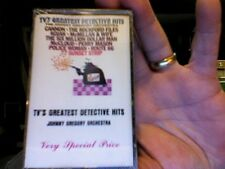 Johnny Gregory Orchestra- TV's Greatest Detective Hits- new/sealed cassette tape