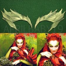 Poison Ivy Leave Eyebrow Eye mask SPRING GREEN Leaf  Comic Con Cosplay Elf Fairy