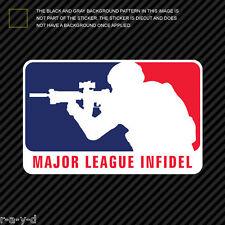 Major League Infidel Sticker Die Cut Decal MLI