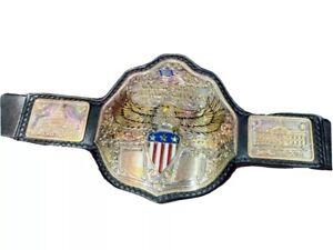 Unique design Handmade United State Big Gold Wrestling Belt ( Gold plated )