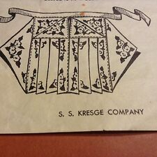 Vintage Handkerchief Apron Pattern with Pockets Sewing Use 4 Hankies COPY A18