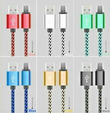 0,5 1,0 1,6m - USB C Type HighSpeed Nylon Ladekabel Samsung Huawei S8 S8+ S9+ A
